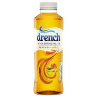 Juicy Drench Peach and Mango - 12 x 500ml